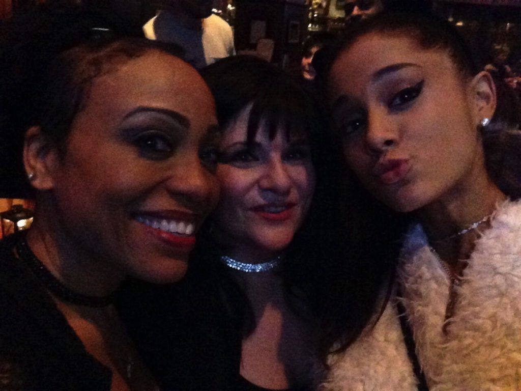 Stella & Denise with Arianna Grande