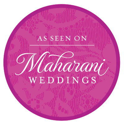 Follow Us on Maharani Weddings